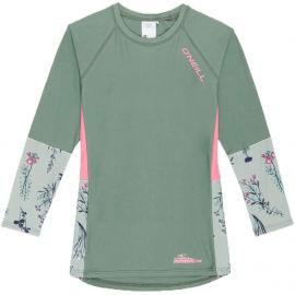 O'Neill PG PRINT L/SLV SKINS - Dívčí tričko