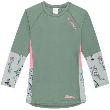 O'Neill PG PRINT L/SLV SKINS - Dievčenské tričko