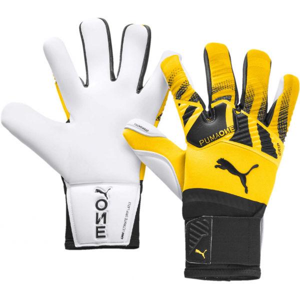 Puma ONE GRIP 1 HYBRID PRO žlutá 9 - Pánské brankářské rukavice