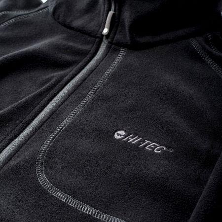 Men's fleece sweatshirt - Hi-Tec CAMOLIN - 4