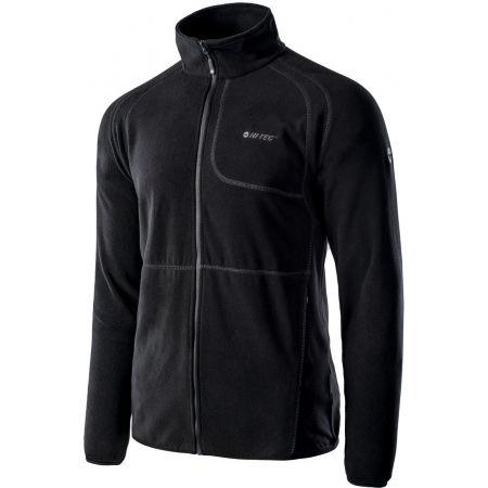 Men's fleece sweatshirt - Hi-Tec CAMOLIN - 2