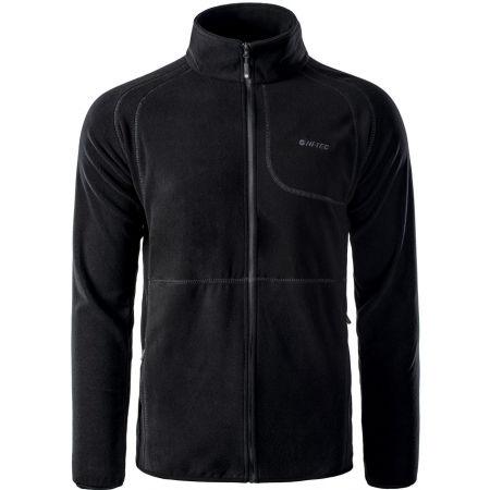 Men's fleece sweatshirt - Hi-Tec CAMOLIN - 1