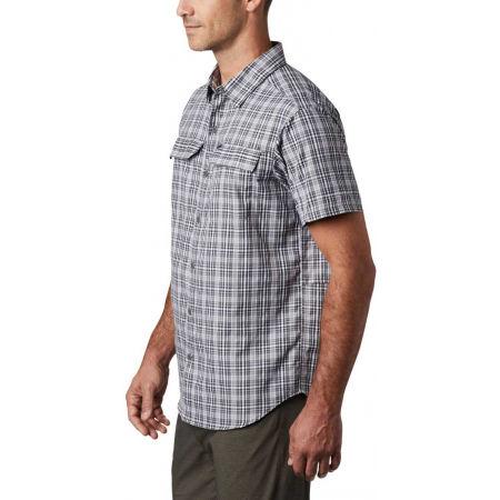 Pánska košeľa s krátkym rukávom - Columbia SILVER RIDGE 2.0 MULTI PLAID SS SHIRT - 5