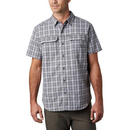 Pánska košeľa s krátkym rukávom - Columbia SILVER RIDGE 2.0 MULTI PLAID SS SHIRT - 4