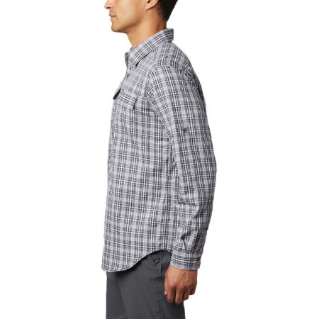 Men's long sleeve shirt - Columbia SILVER RIDGE™ 2.0 PLAID L/S SHIRT - 8