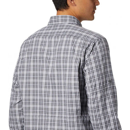 Men's long sleeve shirt - Columbia SILVER RIDGE™ 2.0 PLAID L/S SHIRT - 11