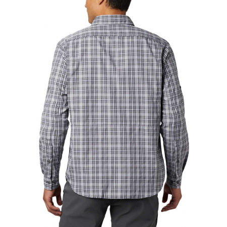 Men's long sleeve shirt - Columbia SILVER RIDGE™ 2.0 PLAID L/S SHIRT - 9