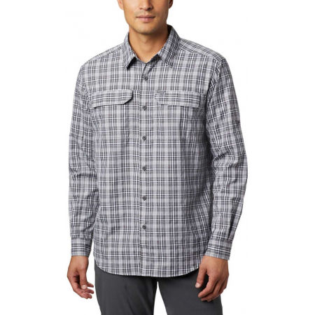 Men's long sleeve shirt - Columbia SILVER RIDGE™ 2.0 PLAID L/S SHIRT - 7
