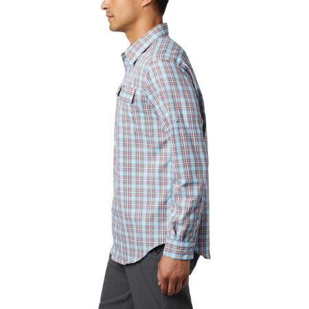 Pánska košeľa s dlhým rukávom - Columbia SILVER RIDGE™ 2.0 PLAID L/S SHIRT - 8
