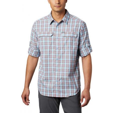 Pánska košeľa s dlhým rukávom - Columbia SILVER RIDGE™ 2.0 PLAID L/S SHIRT - 9