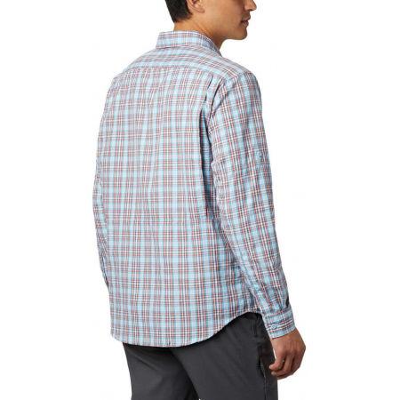 Pánska košeľa s dlhým rukávom - Columbia SILVER RIDGE™ 2.0 PLAID L/S SHIRT - 10