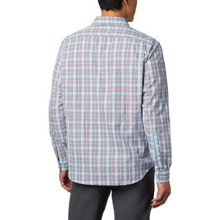 Pánska košeľa s dlhým rukávom - Columbia SILVER RIDGE™ 2.0 PLAID L/S SHIRT - 11