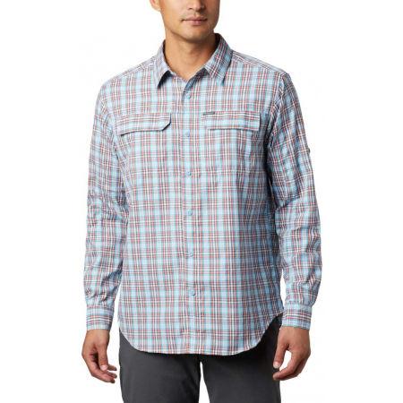 Pánska košeľa s dlhým rukávom - Columbia SILVER RIDGE™ 2.0 PLAID L/S SHIRT - 7