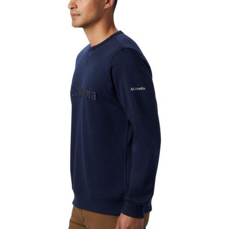 Men's leisure sweatshirt - Columbia M LOGO FLEECE CREW - 2