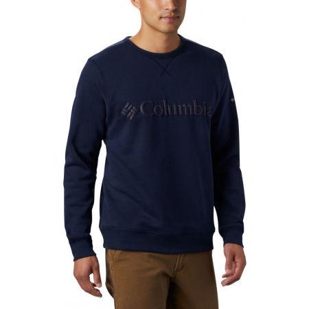 Men's leisure sweatshirt - Columbia M LOGO FLEECE CREW - 3