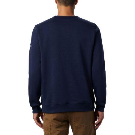 Men's leisure sweatshirt - Columbia M LOGO FLEECE CREW - 4