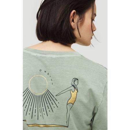 Shirt für Damen - O'Neill LW LONGBOARD BACKPRINT T-SHIRT - 5