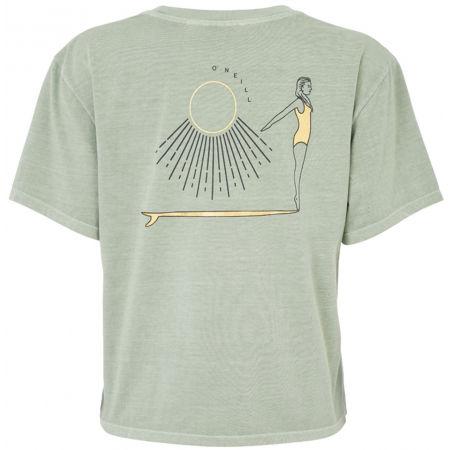 Shirt für Damen - O'Neill LW LONGBOARD BACKPRINT T-SHIRT - 2