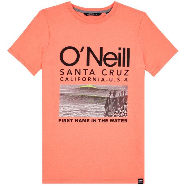 O'Neill LB THE POINT T-SHIRT oranžová 176 - Chlapecké tričko