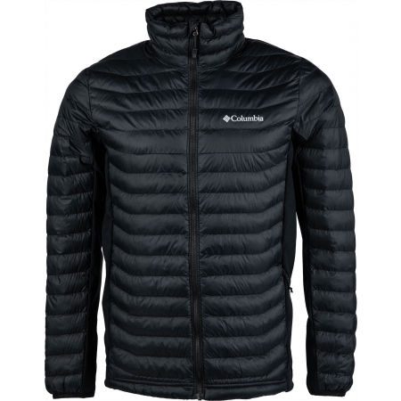 Pánska outdoorová bunda - Columbia POWDER PASS JACKET - 1