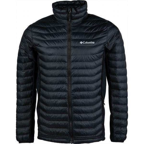 Columbia POWDER PASS JACKET čierna L - Pánska outdoorová bunda