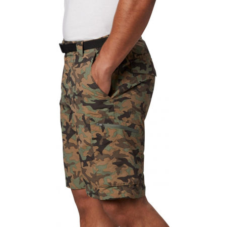 Columbia SILVER RIDGE™ PRINTED CARGO SHORT - Мъжки къси панталони