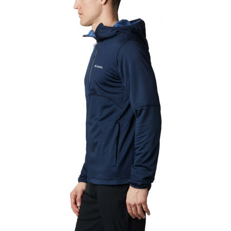 Мъжки суитшърт - Columbia TECH TRAIL FULL ZIP HOODIE - 5