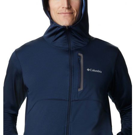 Мъжки суитшърт - Columbia TECH TRAIL FULL ZIP HOODIE - 8