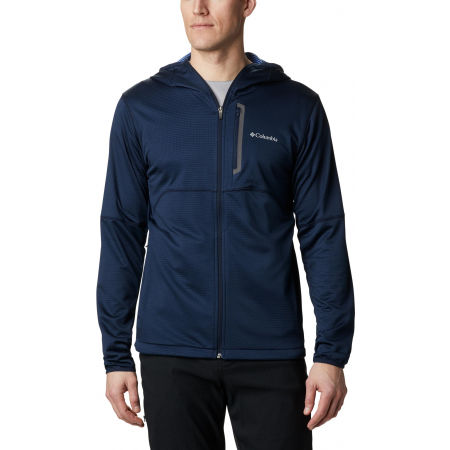 Мъжки суитшърт - Columbia TECH TRAIL FULL ZIP HOODIE - 4