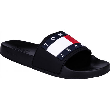 Tommy Hilfiger JEANS FLAG POOL SLIDE - Men's slippers