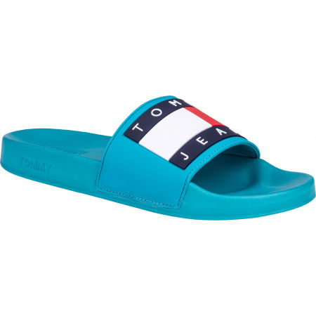 Tommy Hilfiger JEANS FLAG POOL SLIDE - Мъжки чехли