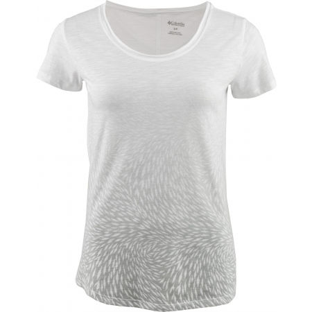 Dámske tričko - Columbia OCEAN FADE SHORT SLEEVE TEE - 1