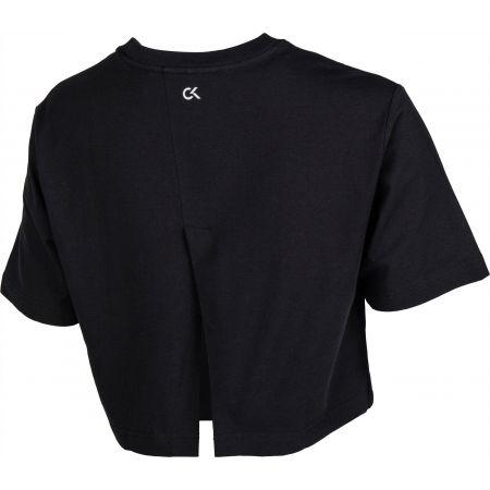 Dámské tričko - Calvin Klein CROPPED SHORT SLEEVE T-SHIRT - 3