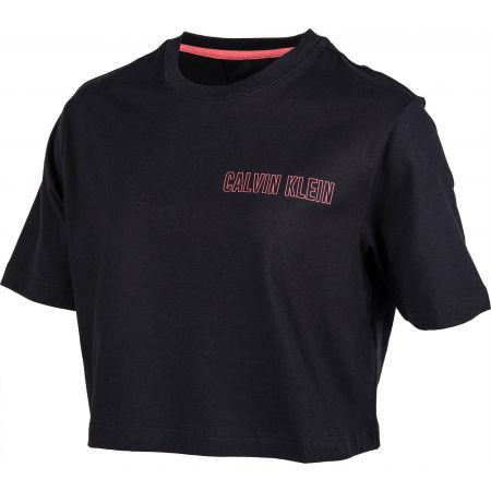 Dámské tričko - Calvin Klein CROPPED SHORT SLEEVE T-SHIRT - 2