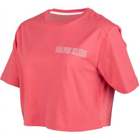 Dámske tričko - Calvin Klein CROPPED SHORT SLEEVE T-SHIRT - 2