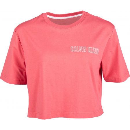 Calvin Klein CROPPED SHORT SLEEVE T-SHIRT - Dámske tričko