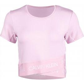 Calvin Klein MMF KNITTED SWEATSHIRT - Дамска тениска