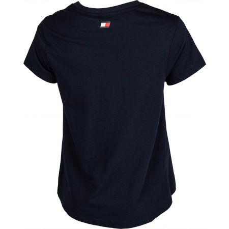 Dámske tričko - Tommy Hilfiger COTTON MIX CHEST LOGO TOP - 3