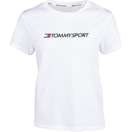 Tommy Hilfiger COTTON MIX CHEST LOGO TOP - Koszulka damska