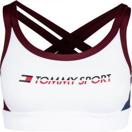 Tommy Hilfiger CO/ EL LOW SUPPORT BRA LOGO - Dámska podprsenka