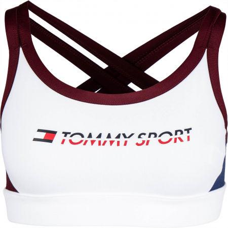 Dámska podprsenka - Tommy Hilfiger CO/ EL LOW SUPPORT BRA LOGO - 1