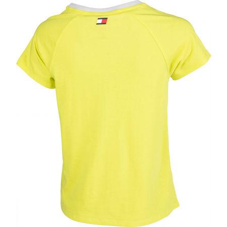 Dámské tričko - Tommy Hilfiger COTTON MIX TOP LOGO - 3