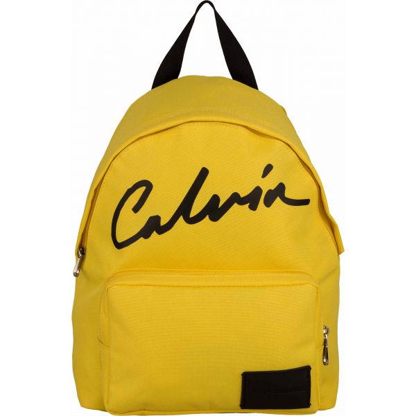Calvin Klein SPORT ESSENTIALS CAMPUS BP35 žlutá UNI - Dámský městský batoh