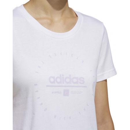 Dámske tričko - adidas W ADI CLOCK TEE - 10