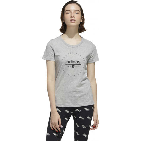 Tricou de damă - adidas W ADI CLOCK TEE - 4