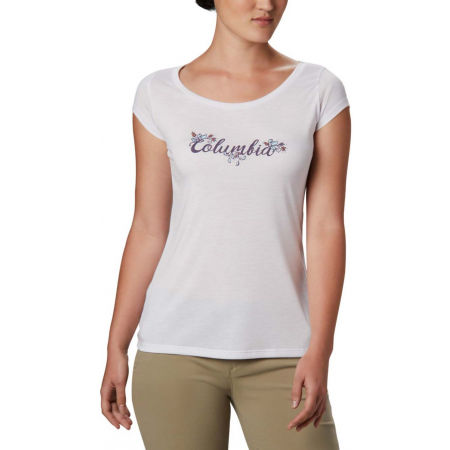 Columbia SHADY GROVE SS TEE - Women's T-shirt