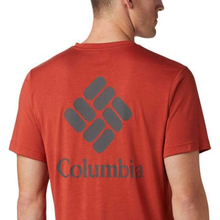Pánske tričko - Columbia MAXTRAIL SS LOGO TEE - 5