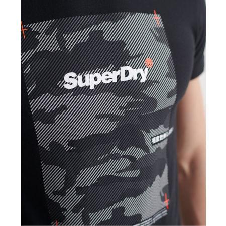 Pánske tričko - Superdry CHROMATIC TEE - 4