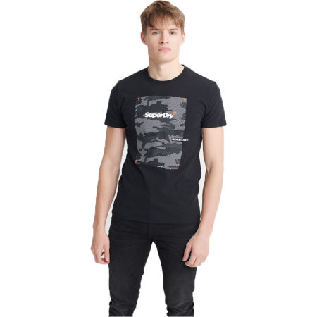 Superdry CHROMATIC TEE - Men's T-Shirt