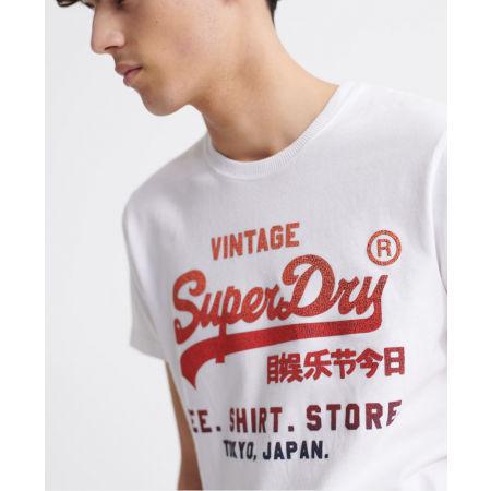 Мъжка тениска - Superdry VL FADE T_SHIRT STORE TEE - 4